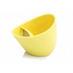 Teetass, sidruni-kollane